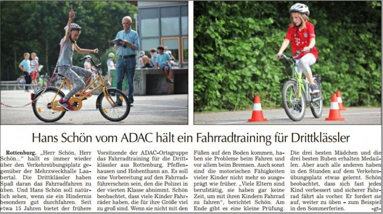 adac training